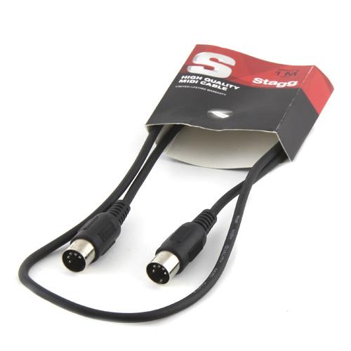 MIDI kabel Stagg Délka 1 m