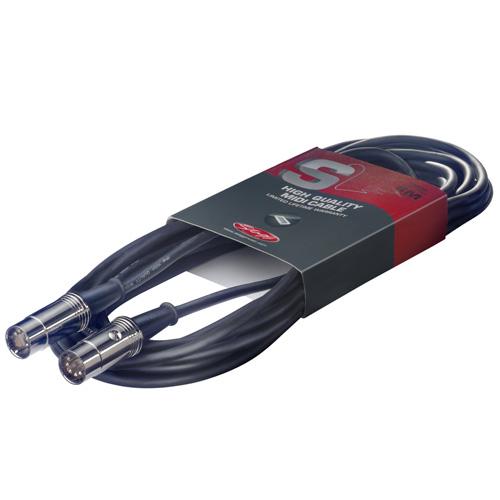 MIDI kabel Stagg Délka 3 m