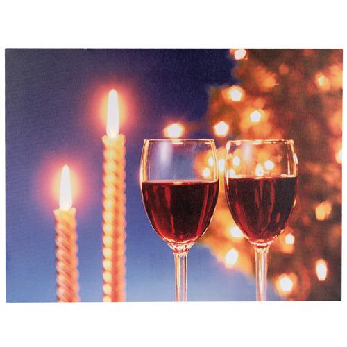Obraz Idena motiv skleniček s vínem, 30 x 40 cm