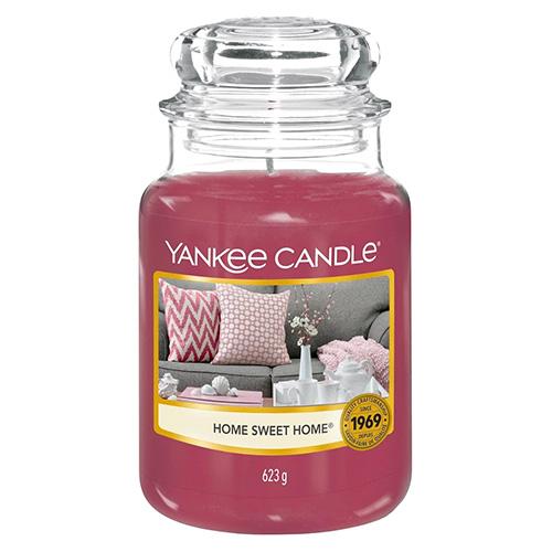 Svíčka ve skleněné dóze Yankee Candle Ó sladký domove, 623 g
