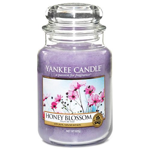 Vonná svíčka Yankee Candle 623 g - Honey blossom
