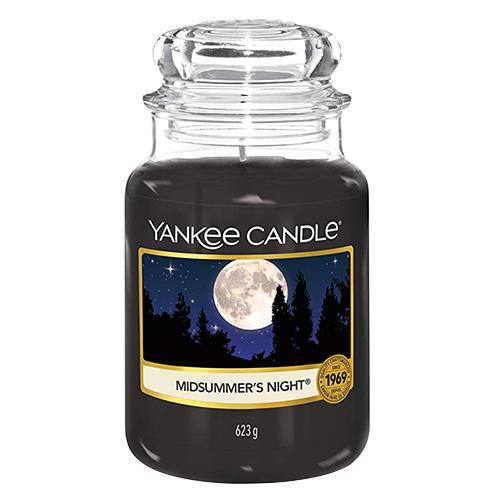 Svíčka ve skleněné dóze Yankee Candle Letní noc, 623 g
