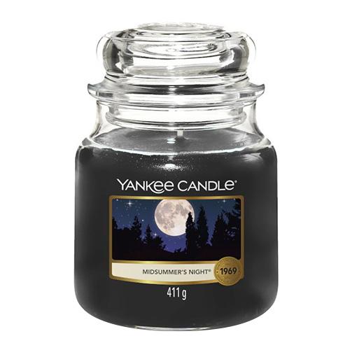 Svíčka ve skleněné dóze Yankee Candle Letní noc, 410 g