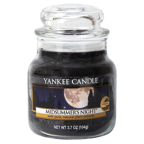 Svíčka ve skleněné dóze Yankee Candle Letní noc, 104 g
