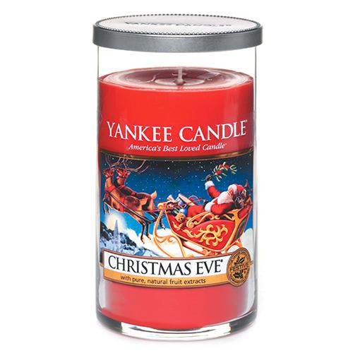 Svíčka ve skleněném válci Yankee Candle Štědrý večer, 340 g