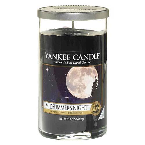 Svíčka ve skleněném válci Yankee Candle Letní noc, 340 g