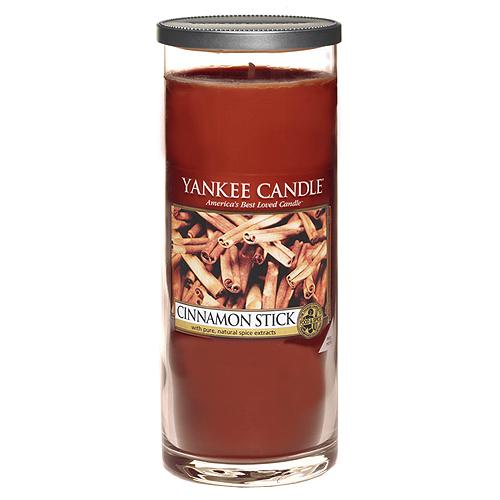 Svíčka ve skleněném válci Yankee Candle Skořicová tyčinka, 566 g