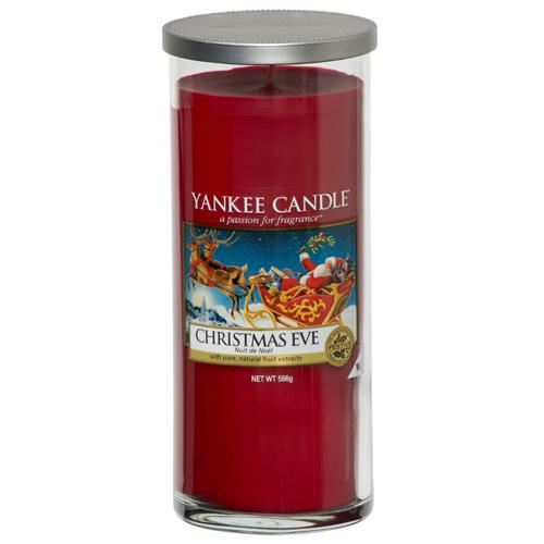 Svíčka ve skleněném válci Yankee Candle Štědrý večer, 566 g