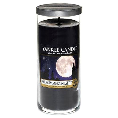 Svíčka ve skleněném válci Yankee Candle Letní noc, 566 g
