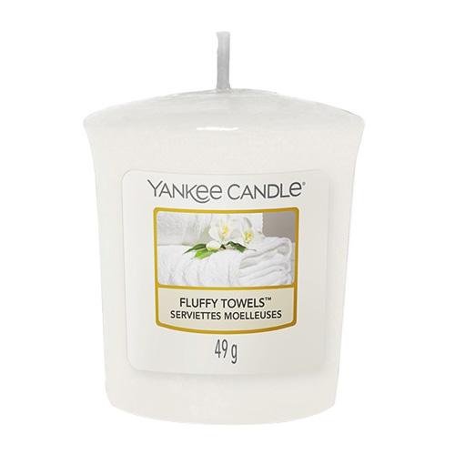 Svíčka Yankee Candle Načechrané ručníky,   49 g