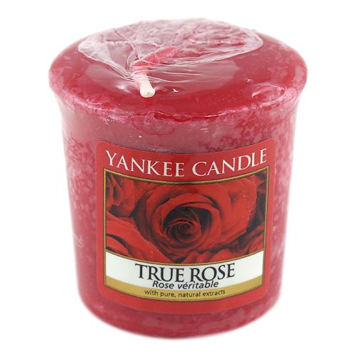 Svíčka Yankee Candle Opravdová růže,   49 g