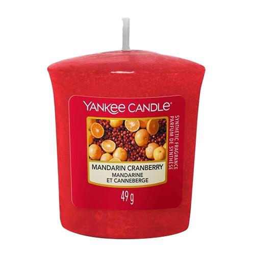 Svíčka Yankee Candle Mandarinky s brusinkami,   49 g