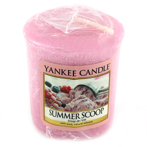 Svíčka Yankee Candle Kopeček letní zmrzliny,   49 g