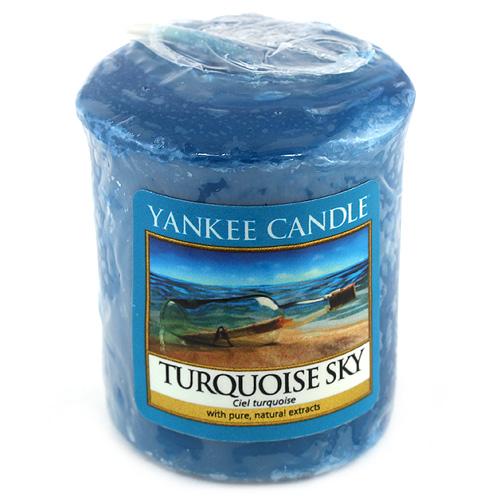 Svíčka Yankee Candle Tyrkysová obloha,   49 g