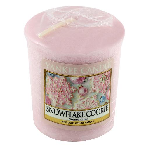 Svíčka Yankee Candle Cukrová vločka,   49 g