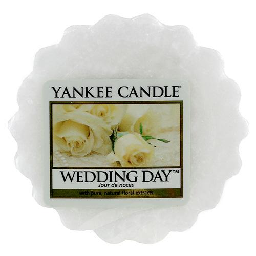 Vonný vosk Yankee Candle Svatební den,   22 g
