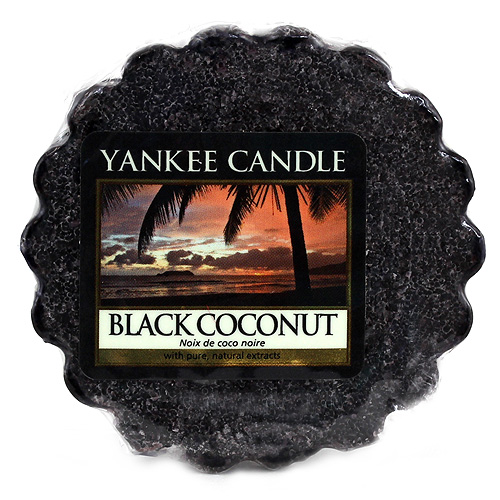 Vonný vosk Yankee Candle Černý kokos,   22 g