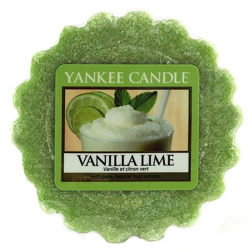 Vonný vosk Yankee Candle Vanilka s limetkami,   22 g