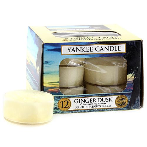 Vonné čajové svíčky Yankee Candle 12 ks - Ginger dusk