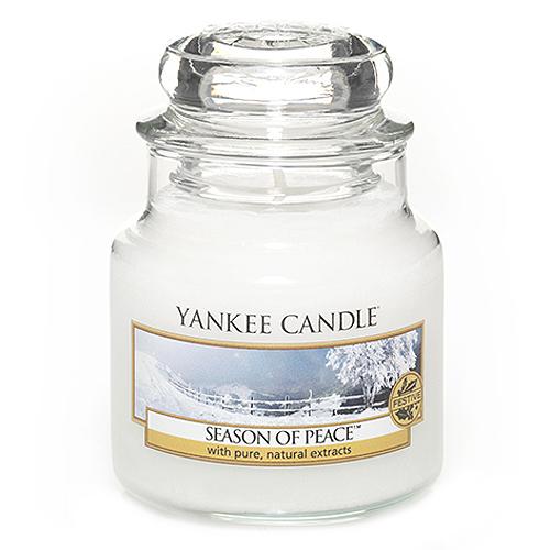 Svíčka ve skleněné dóze Yankee Candle Období míru, 104 g