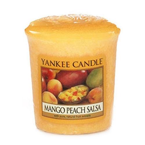 Svíčka Yankee Candle Salza z manga a broskví,   49 g