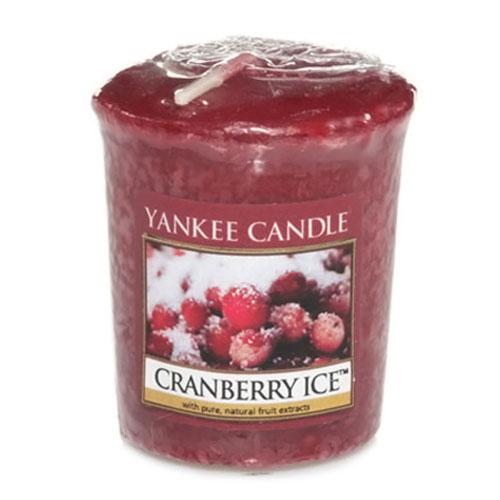 Svíčka Yankee Candle Brusinky na ledu,   49 g