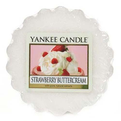 Vonný vosk Yankee Candle Jahody se šlehačkou,   22 g