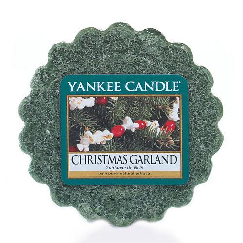 Vonný vosk Yankee Candle Vánoční věnec,   22 g