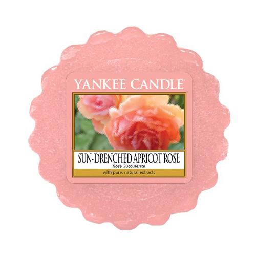 Vonný vosk Yankee Candle Vyšisovaná meruňková růže, 22 g