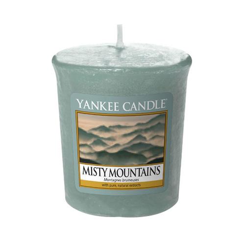 Svíčka Yankee Candle Mlžné hory, 49 g