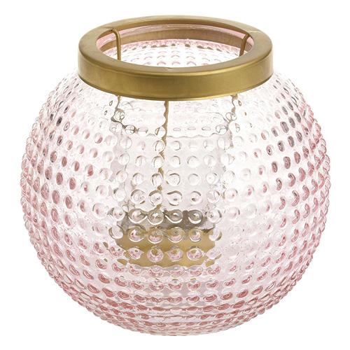Lucerna Yankee Candle Pastel Romance, růžovo-zlatá