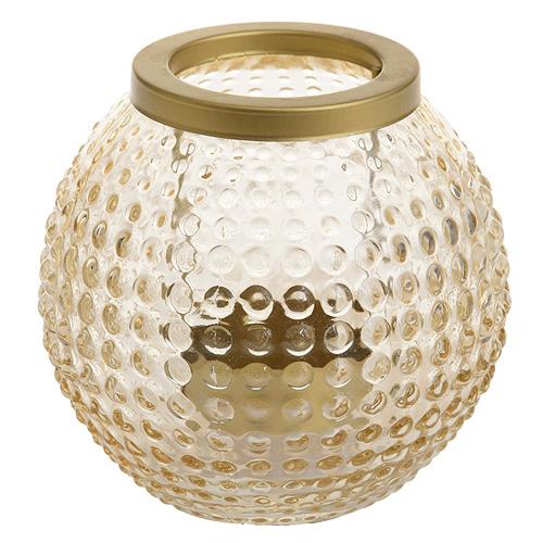 Lucerna Yankee Candle Pastel Romance, zlatá