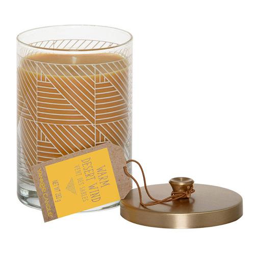 Svíčka ve skleněném válci Yankee Candle Teplý pouštní vítr, 283 g