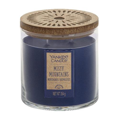 Svíčka ve skleněném válci Yankee Candle Mlžné hory, 354 g