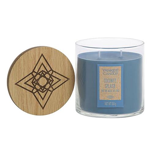 Svíčka ve skleněném válci Yankee Candle Kokosové osvěžení, 354 g