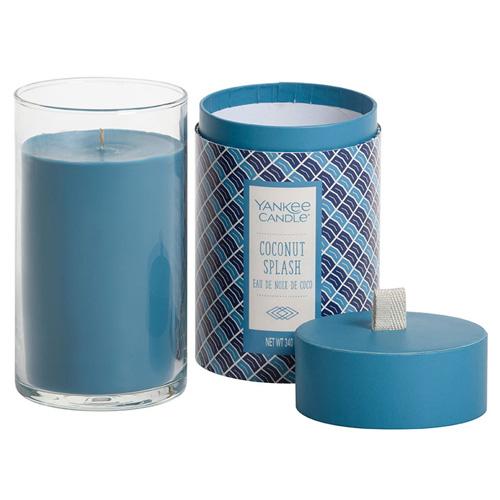 Svíčka ve skleněném válci Yankee Candle Kokosové osvěžení, 340 g
