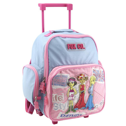 Školní batoh trolley Cool Fox Co. Girls