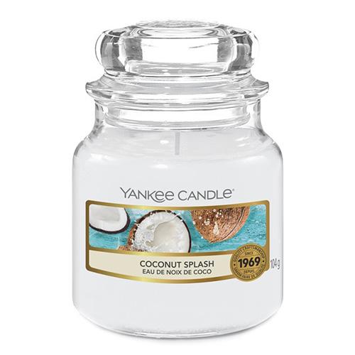 Svíčka ve skleněné dóze Yankee Candle Kokosové osvěžení, 104 g