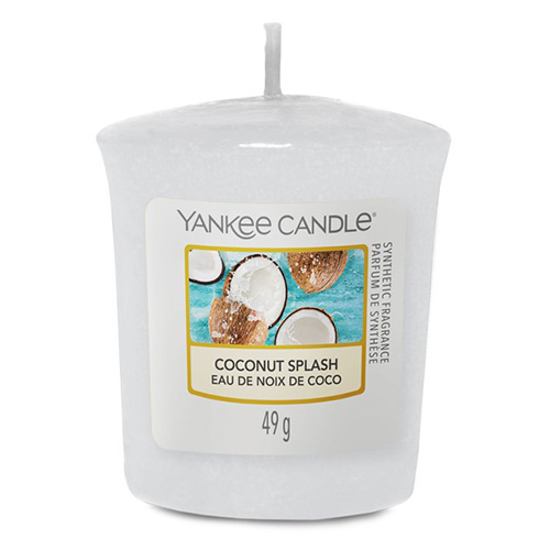 Svíčka Yankee Candle Kokosové osvěžení, 49 g