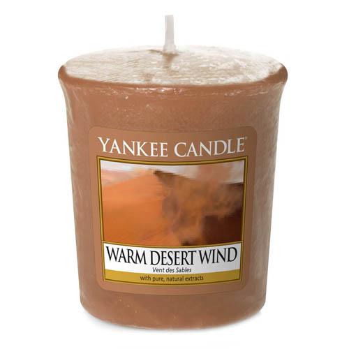 Svíčka Yankee Candle Teplý pouštní vítr, 49 g