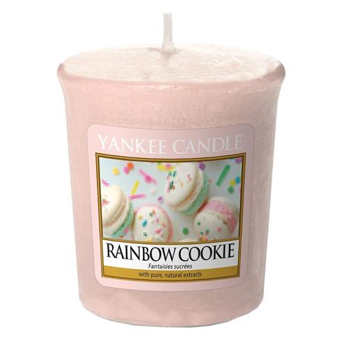 Svíčka Yankee Candle Duhové makronky, 49 g
