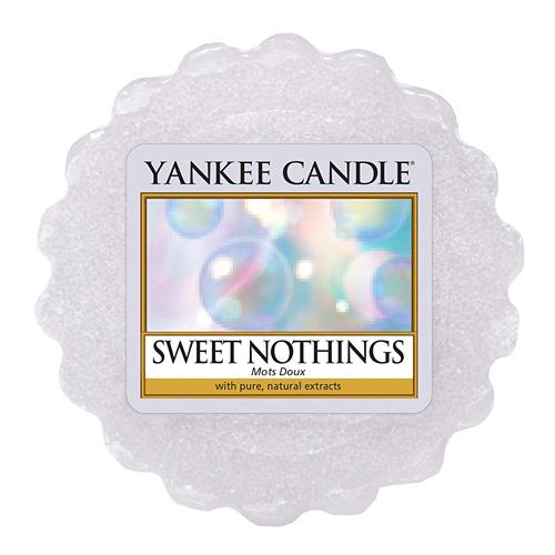 Vonný vosk Yankee Candle Sladké nic, 22 g