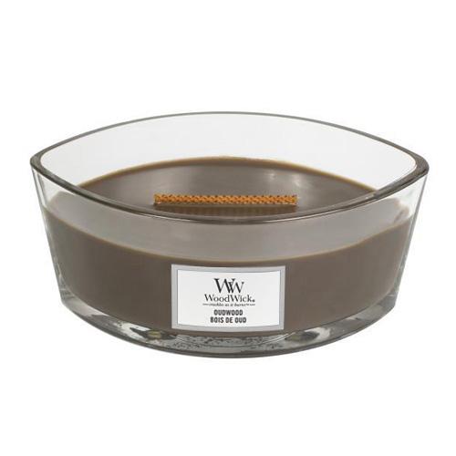 Svíčka dekorativní váza WoodWick Pryskyřice, 453.6 g