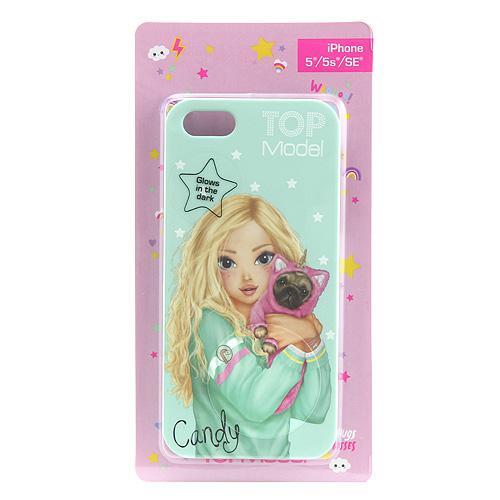 Ochranný kryt Top Model ASST Candy, pro iPhone 5/5s/SE, světle zelený