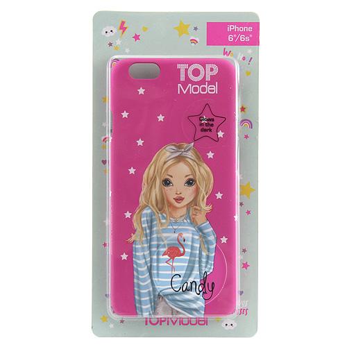 Ochranný kryt Top Model ASST Candy, pro iPhone 6/6s, tmavě růžový
