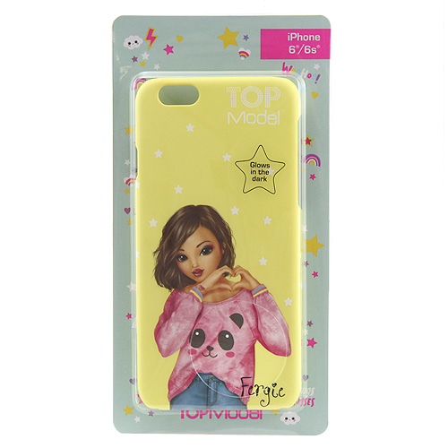 Ochranný kryt Top Model ASST Fergie, pro iPhone 6/6s, žlutý