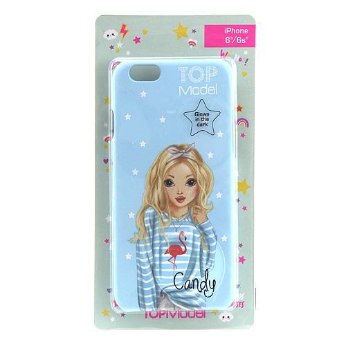 Ochranný kryt Top Model ASST Candy, pro iPhone 6/6s, světle modrý