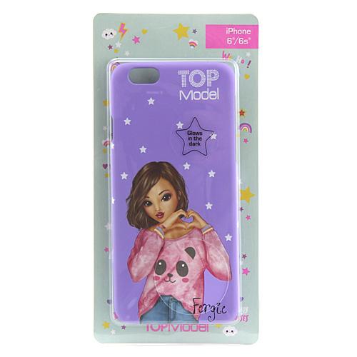 Ochranný kryt Top Model ASST Fergie, pro iPhone 6/6s, fialový