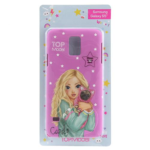 Ochranný kryt Top Model ASST Candy, pro Samsung Galaxy S5, světle růžový