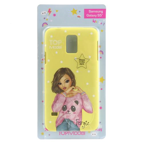 Ochranný kryt Top Model ASST Fergie, pro Samsung Galaxy S5, žlutý